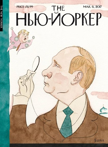 The New Yorker Cover - 3/6/2017