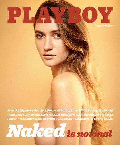 Playboy Cover - 3/1/2017
