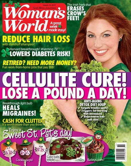 Woman's World Cover - 3/13/2017