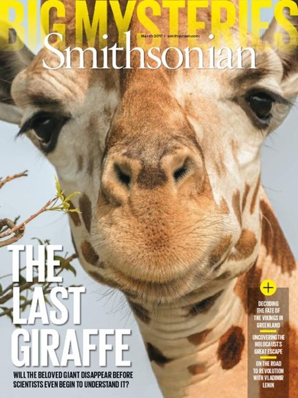 Smithsonian Cover - 3/1/2017