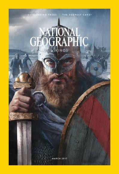 National Geographic Cover - 3/1/2017