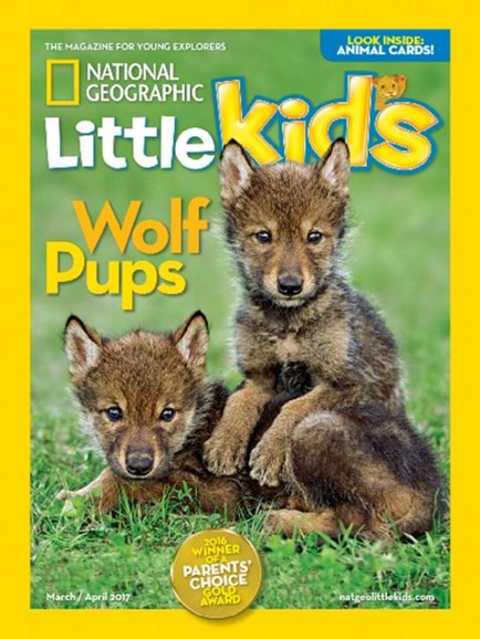 National Geographic Little Kids Cover - 3/1/2017