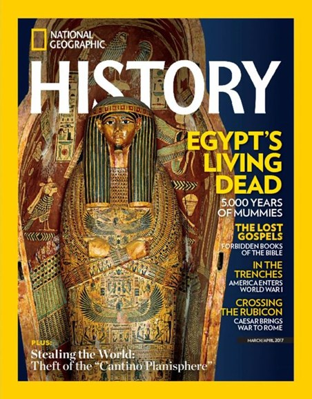 National Geographic History Cover - 3/1/2017