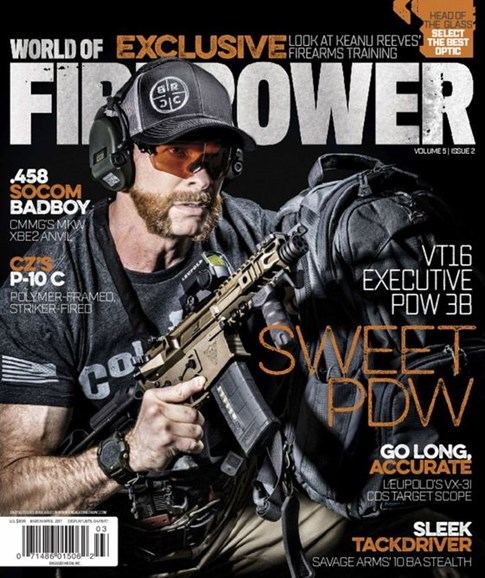 World of Firepower Cover - 3/1/2017