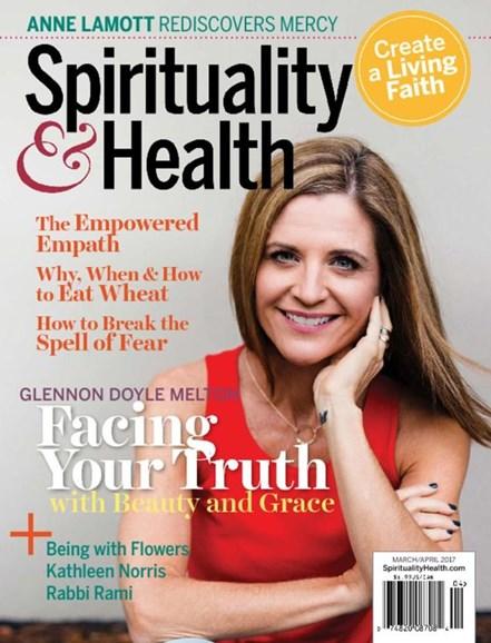 Spirituality & Health Cover - 3/1/2017