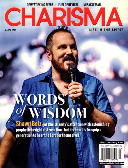 Charisma Cover - 3/1/2017