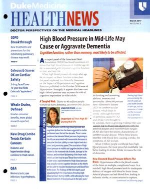 Health News Newsletter   3/2017 Cover
