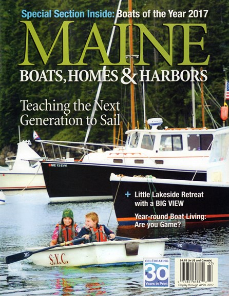Maine Boats, Homes & Harbors Cover - 3/1/2017