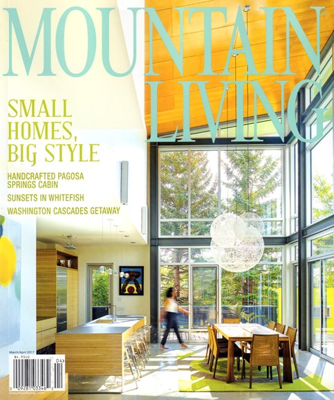 Mountain Living Cover - 3/1/2017
