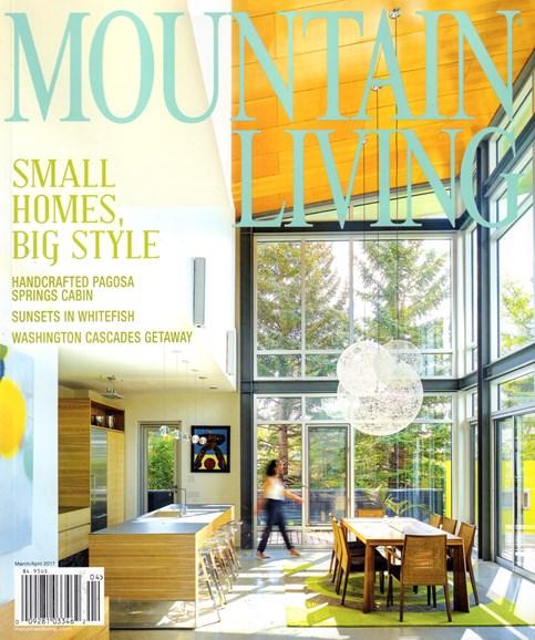 Mountain Living Cover - 3/1/2017