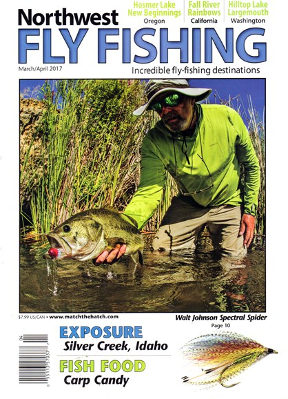 Northwest Fly Fishing Cover - 3/1/2017