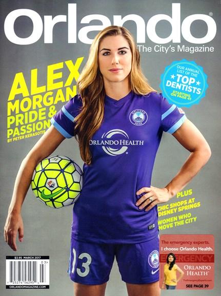 Orlando Magazine Cover - 3/1/2017