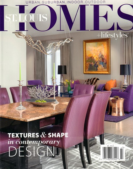 St. Louis Homes & Lifestyles Cover - 3/1/2017