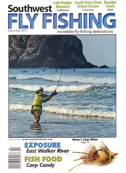 Southwest Fly Fishing Cover - 3/1/2017