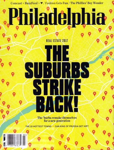 Philadelphia Magazine Cover - 3/1/2017