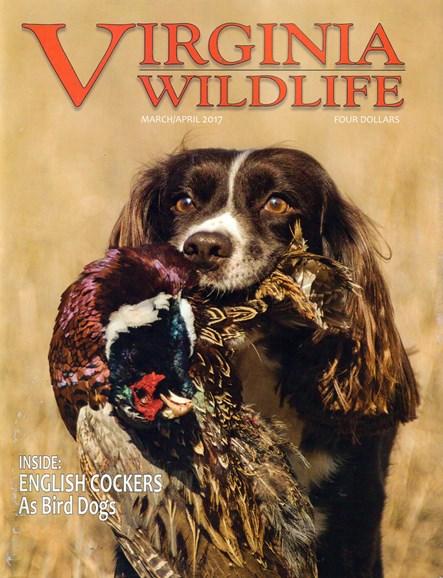 Virginia Wildlife Cover - 3/1/2017
