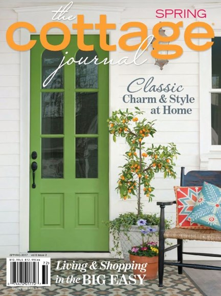 The Cottage Journal Cover - 3/1/2017