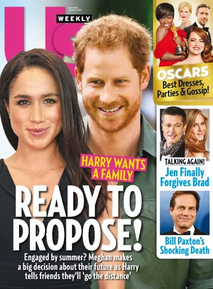 Us Weekly Cover - 3/13/2017