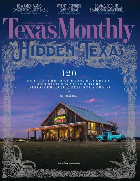 Texas Monthly Cover - 3/1/2017