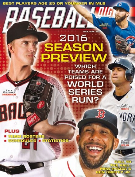 Baseball Digest Cover - 3/1/2016