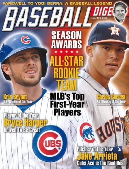 Baseball Digest Cover - 1/1/2016