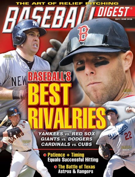 Baseball Digest Cover - 5/1/2016