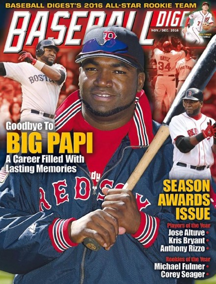 Baseball Digest Cover - 11/1/2016