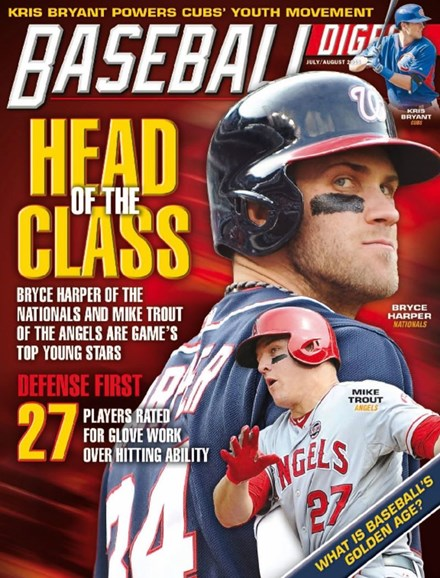 Baseball Digest Cover - 7/1/2015