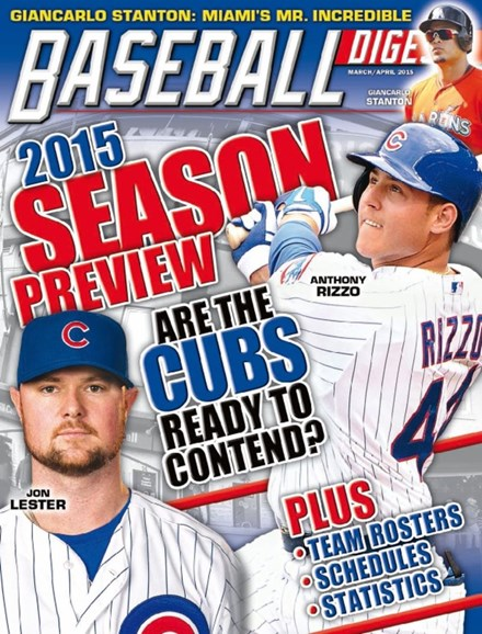 Baseball Digest Cover - 3/1/2015