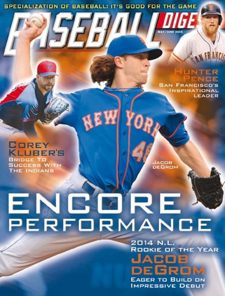 Baseball Digest Cover - 5/1/2015