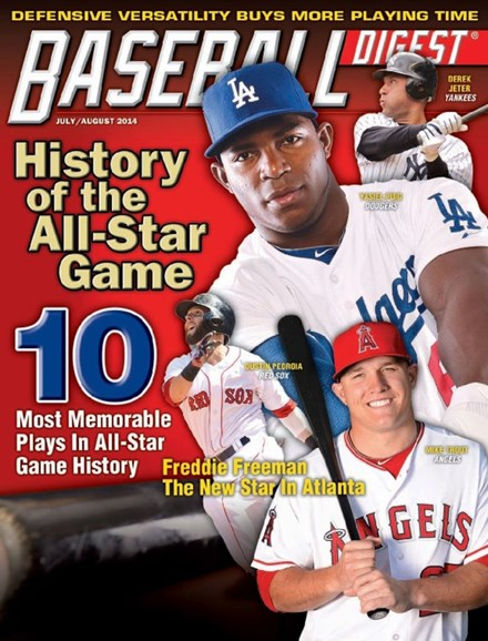 Baseball Digest Cover - 7/1/2014