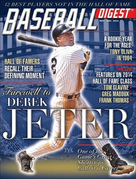 Baseball Digest Cover - 11/1/2014