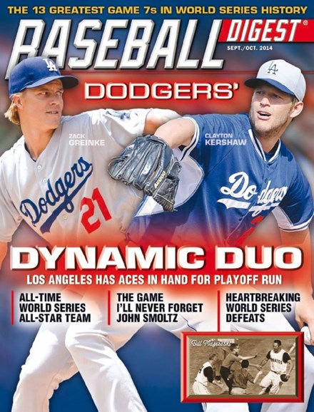 Baseball Digest Cover - 9/1/2014