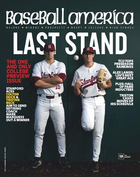 Baseball America Cover - 2/10/2017