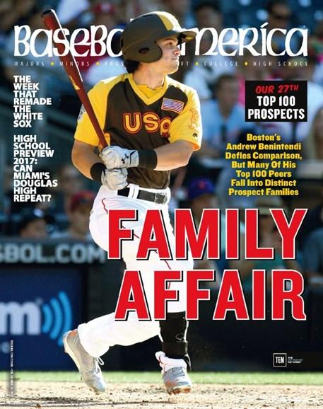 Baseball America Cover - 2/24/2017