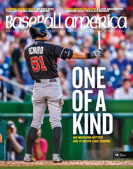 Baseball America Cover - 8/12/2016