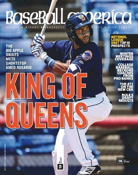 Baseball America Cover - 12/23/2016