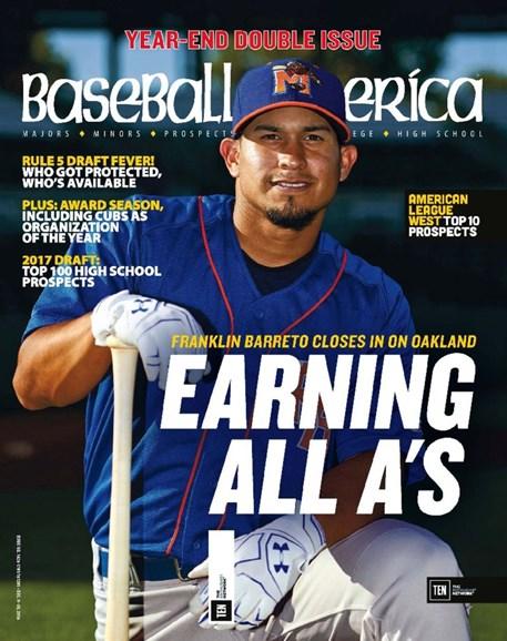 Baseball America Cover - 12/2/2016