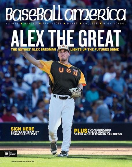 Baseball America Cover - 7/29/2016