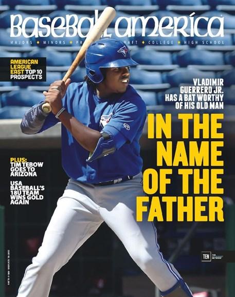 Baseball America Cover - 11/4/2016