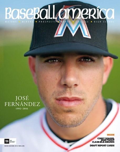 Baseball America Cover - 10/21/2016