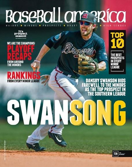 Baseball America Cover - 10/7/2016