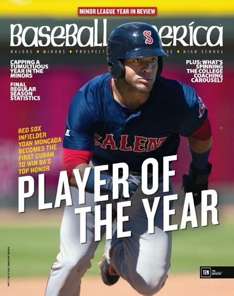 Baseball America Cover - 9/23/2016