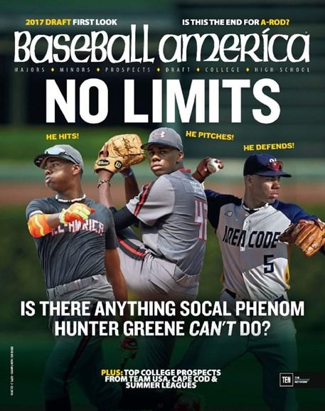 Baseball America Cover - 9/2/2016