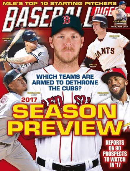 Baseball Digest Cover - 3/1/2017