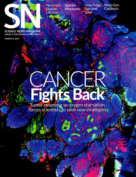 Science News Cover - 3/4/2017