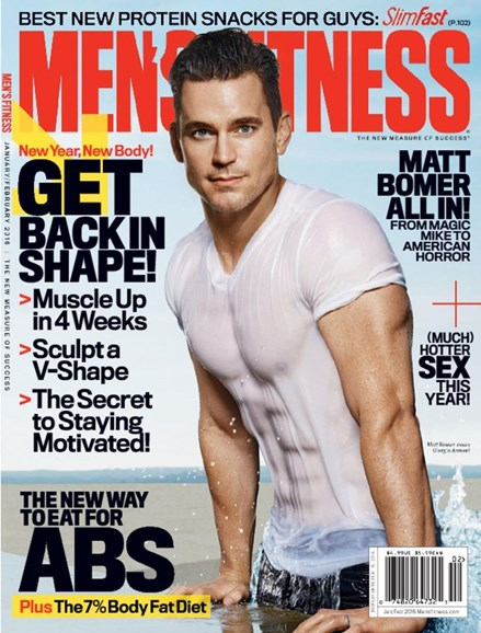 Men's Fitness Cover - 1/1/2016