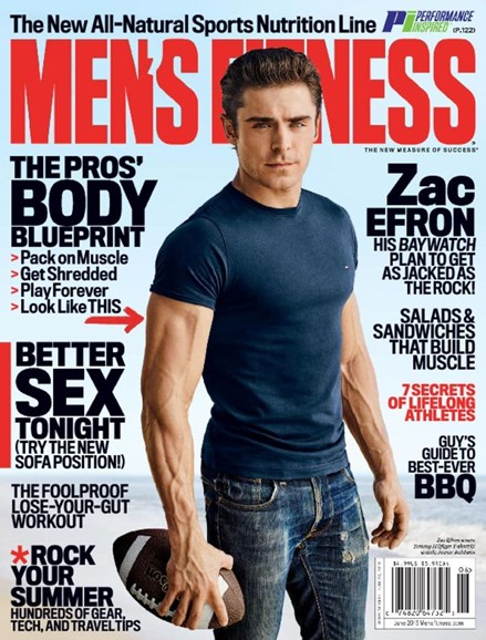 Men's Fitness Cover - 6/1/2016