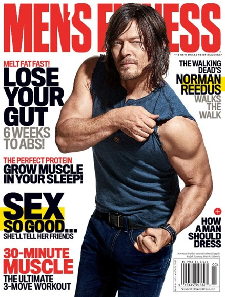 Men's Fitness Cover - 3/1/2016