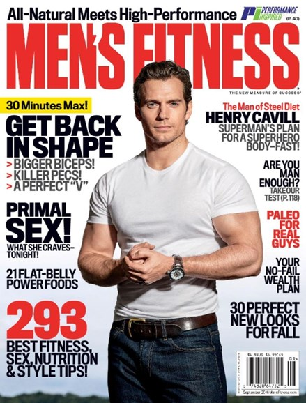 Men's Fitness Cover - 9/1/2016